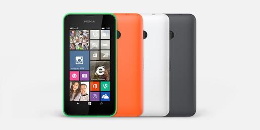 Nokia 530 3 - Nokia Lumia 530 ra mắt tại Việt Nam, giá 2,35 triệu đồng