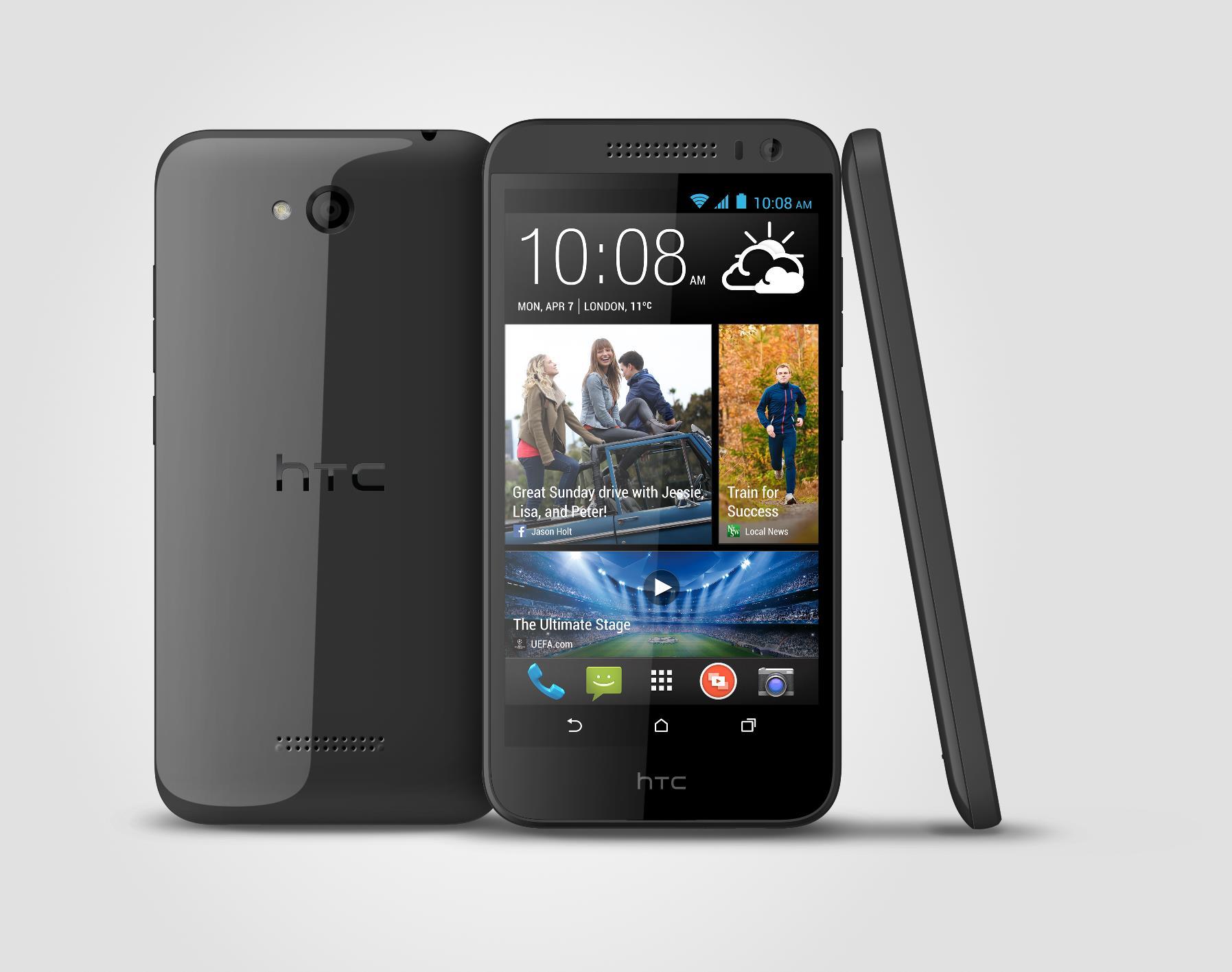 V3 3V DarkGray 2014Mar13 - HTC Desire 616 dual SIM lên kệ, giá 5,5 triệu đồng