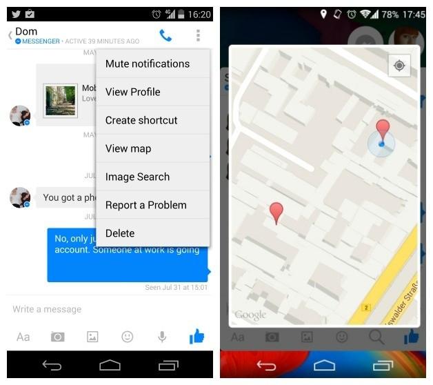 facebook messenger 4 - Bốn mẹo nhỏ dùng Facebook Messenger cho Android tốt hơn