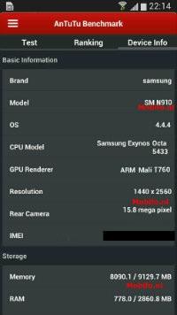 image00119 - Samsung Galaxy Note 4 lộ cấu hình qua thang đo điểm