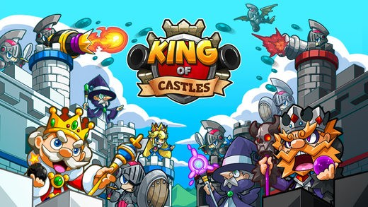 king of castle 1 - King of Castles: Tựa game phòng thủ mới cực hay