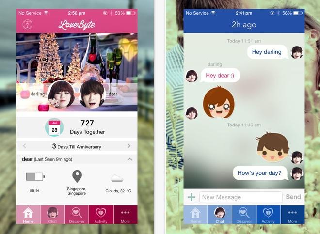 lovebyte 3 - LoveByte: Trình nhắn tin di động cho các cặp tình nhân