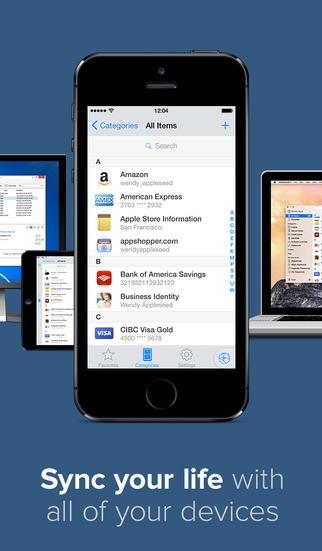 1password 3 - 1Password được cập nhật cho iOS 8