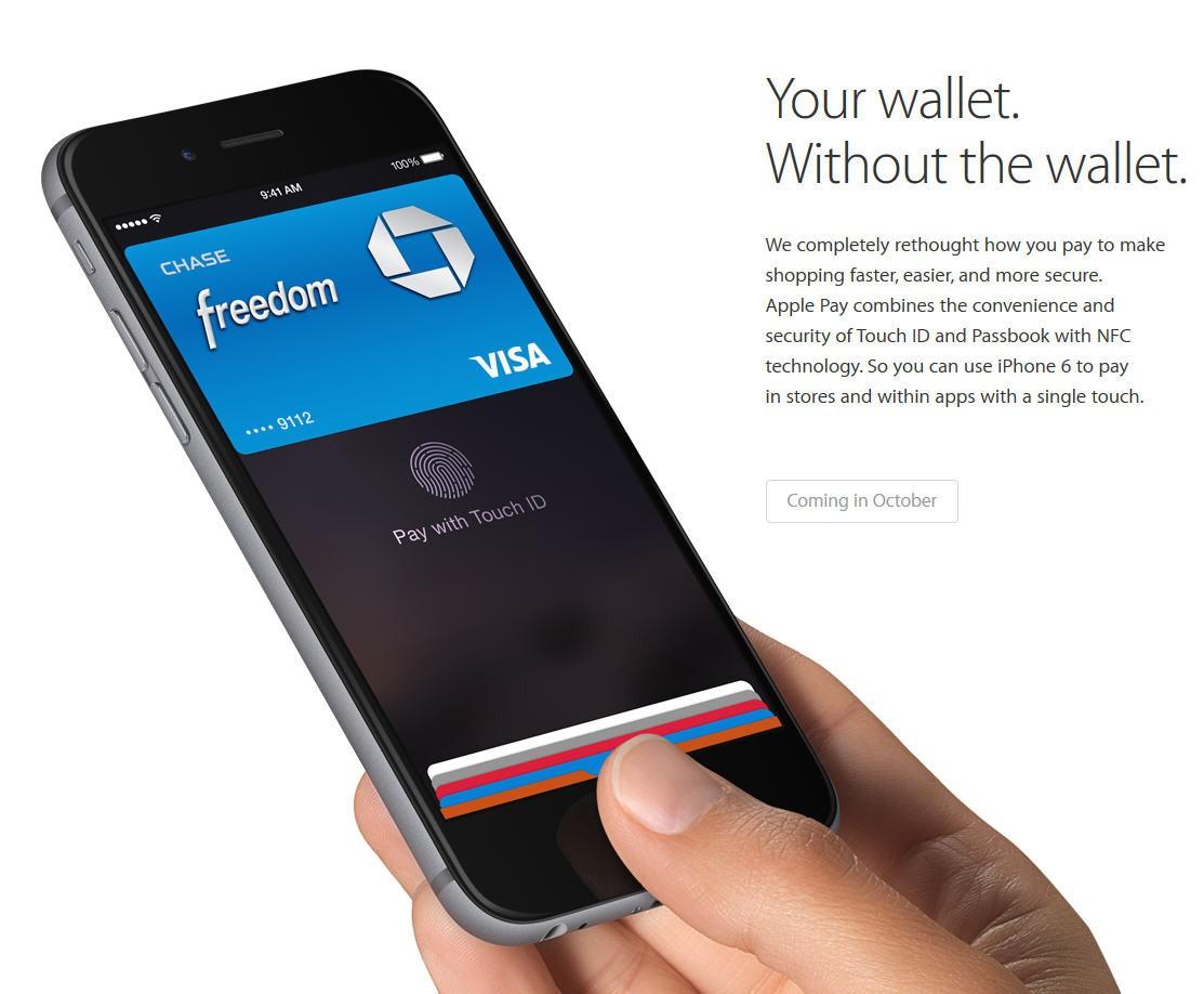 apple pay - Apple thể hiện tham vọng lớn với nền tảng thanh toán di động mới Apple Pay