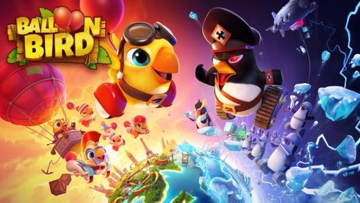 ballon bird 3 - Balloon Bird: Những chú chim thiện chiến