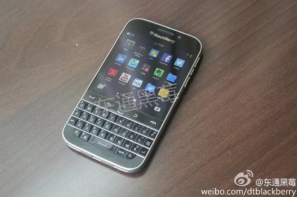 blackberry classic - BlackBerry Classic lộ diện hình ảnh thật
