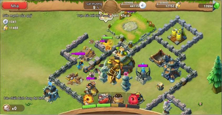 game mobile advance dino - Asiasoft giới thiệu game mobile ADVANCE DINO