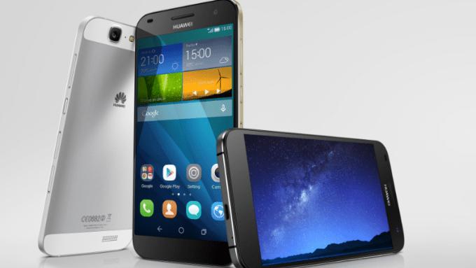 huawei ascend g7 - Huawei ra mắt smartphone Ascend G7