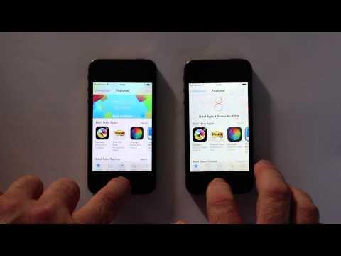 iphone 4s ios8 - So sánh tốc độ iPhone 4S chạy iOS 7.1.2 và iOS 8.0.2