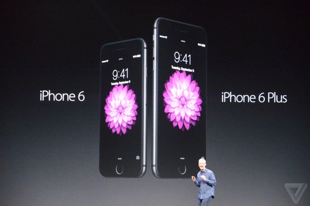 iphone 6 plus 1 - iPhone 6 Plus màn hình 5.5 inch chính thức được giới thiệu