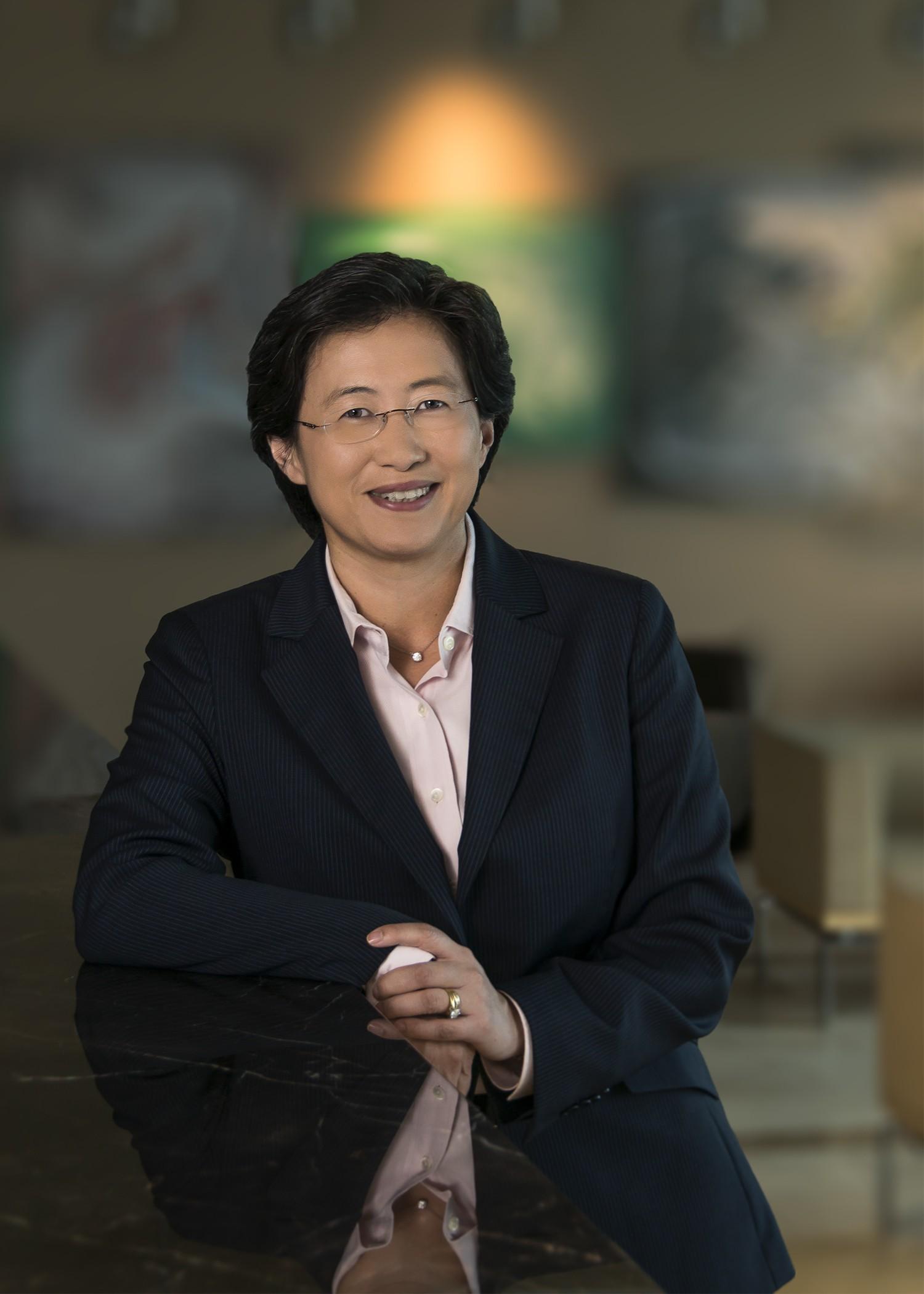 Lisa Su Headshot - AMD bổ nhiệm giám đốc điều hành mới