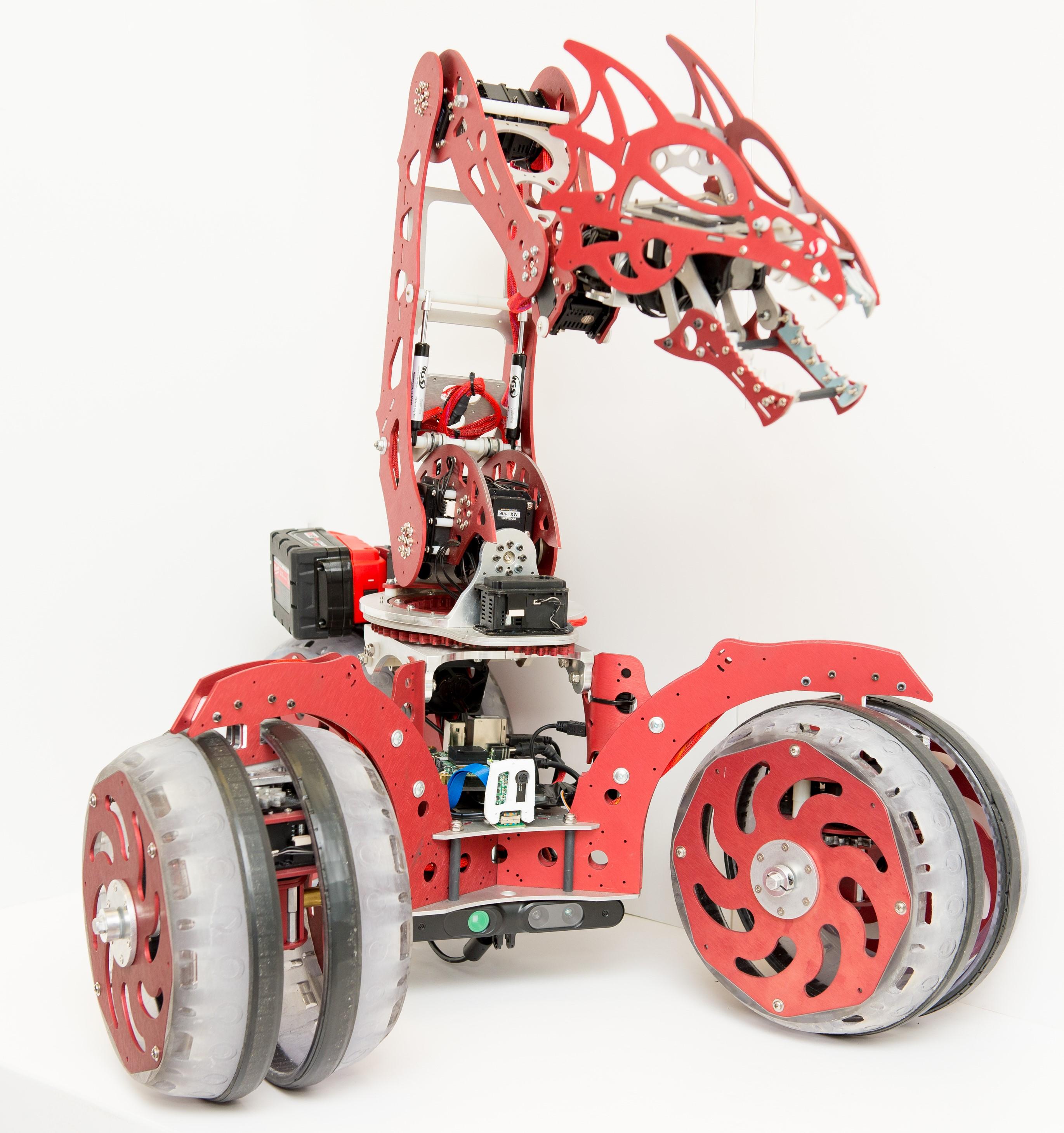 ROBOT SNAPDRAGON ROVER - Thú vị Robot Snapdragon Rover và Snapdragon Micro Rover