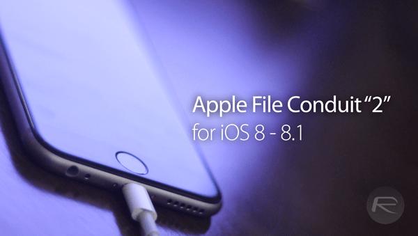 afc2 for ios8 jailbreak - Truy xuất toàn bộ file iOS 8 qua USB với AFC2