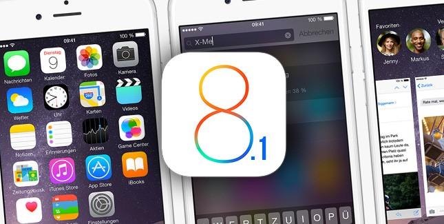 ios8.1 - iOS 8.1 ra mắt, cho phép tải về