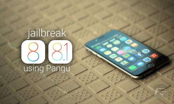 jailbreak ios 81 - Hướng dẫn jailbreak iOS 8.1 - iOS 8 bằng Pangu
