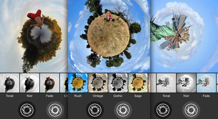 living planet - Living Planet – Tạo ảnh siêu độc đáo trên iPhone