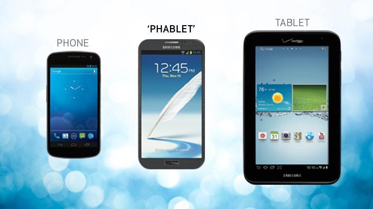 phablet 1 - Phablet và giới hạn màn hình smartphone
