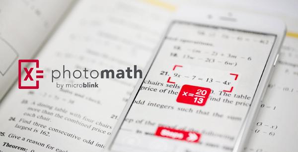 """photomath - """"Siêu ứng dụng"""" giải toán gây sốt"""