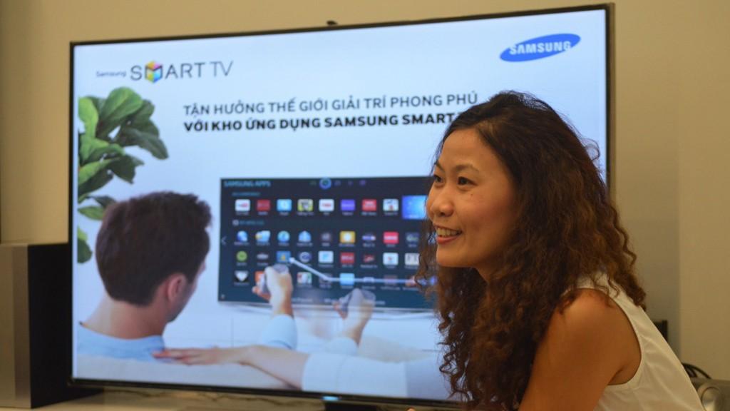 samsung app - Smart TV mở ra xu hướng xem truyền hình mới