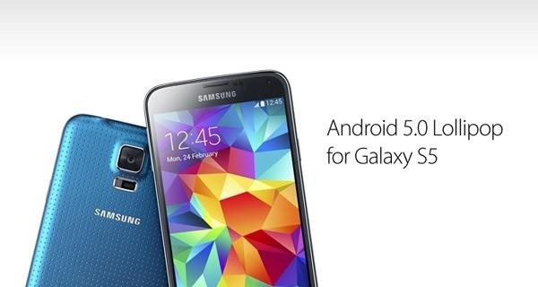 samsung galaxy s5 lollipop - Galaxy S5 được lên Android 5.0 vào tháng 12