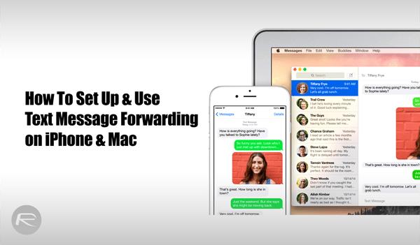 text message forwarding 8.1 1 - Hướng dẫn sử dụng SMS Forwarding trên iOS 8.1