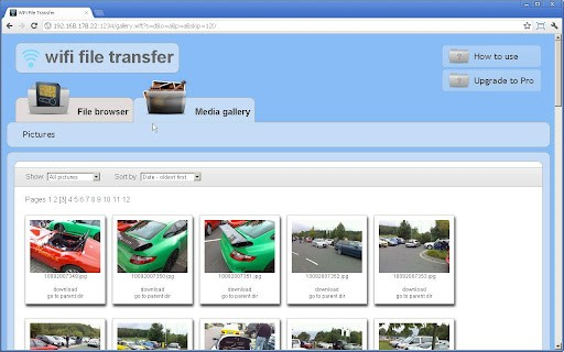 wifi transfer - WiFi File Transfer - Chia sẻ file trên Android qua Wi-Fi