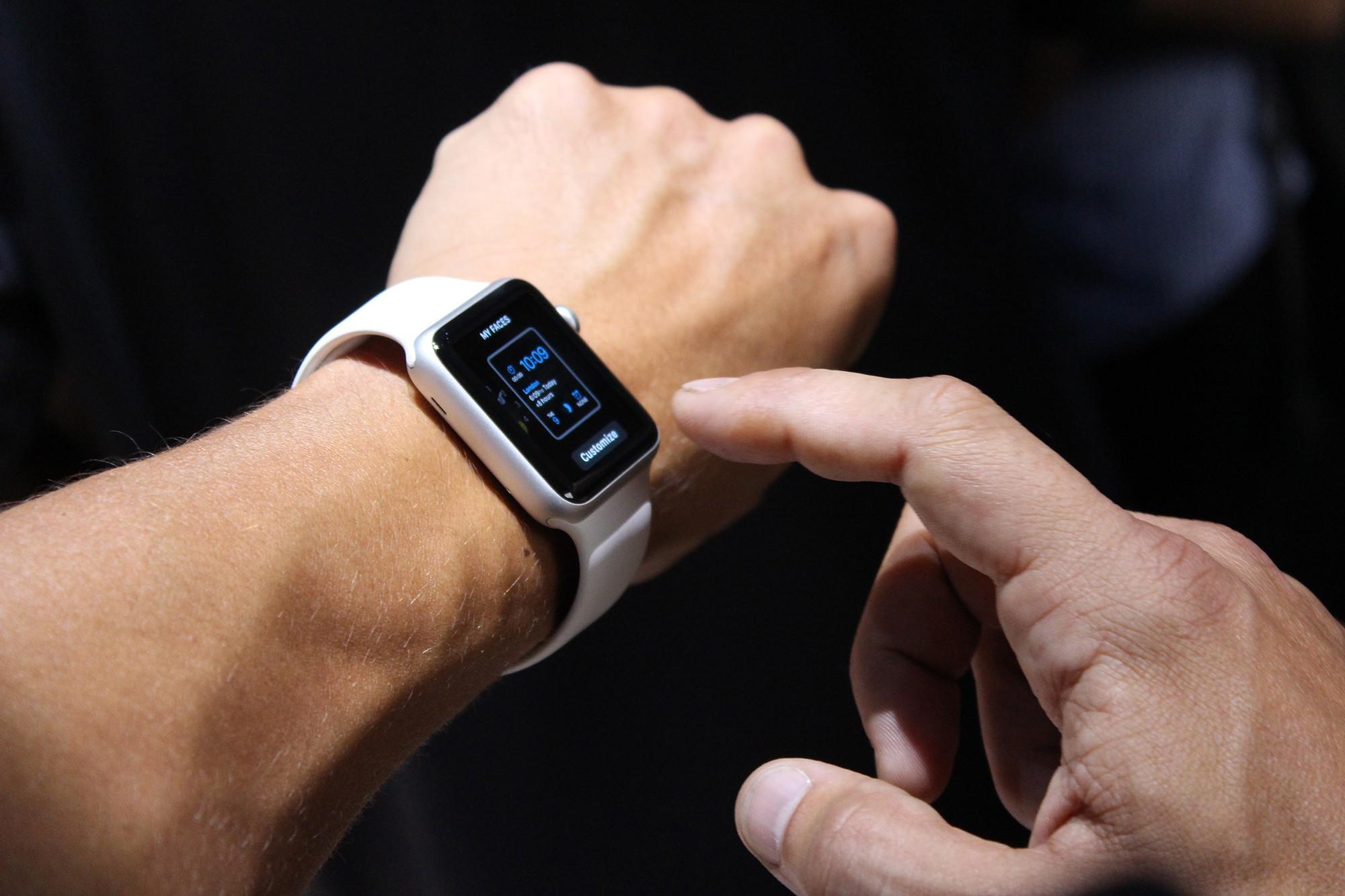 apple watch -  Apple Watch sẽ có mặt sau tết Nguyên Đán 2015