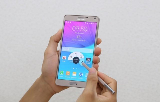 galaxy note 4 gold - Thế Giới Di Động: Mua Samsung Galaxy Note 4, nhận quà 4,6 triệu đồng