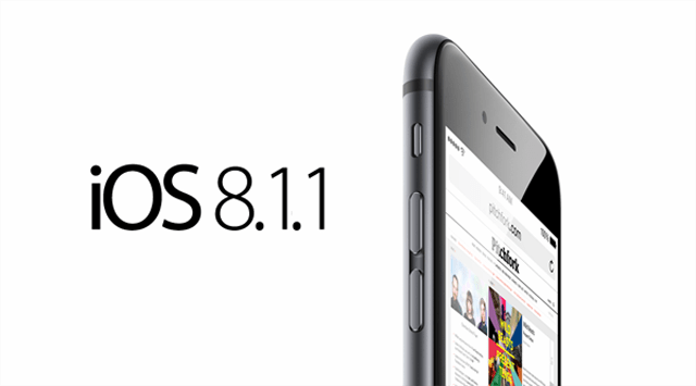 iOS 81.1 - Apple phát hành iOS 8.1.1