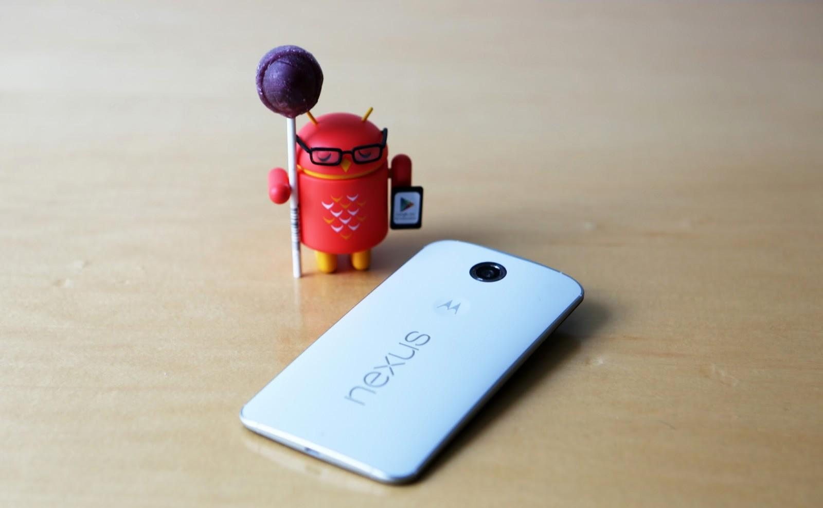 nexus 6 - Motorola bắt đầu bán Nexus 6, bổ sung dây kim loại cho Moto 360