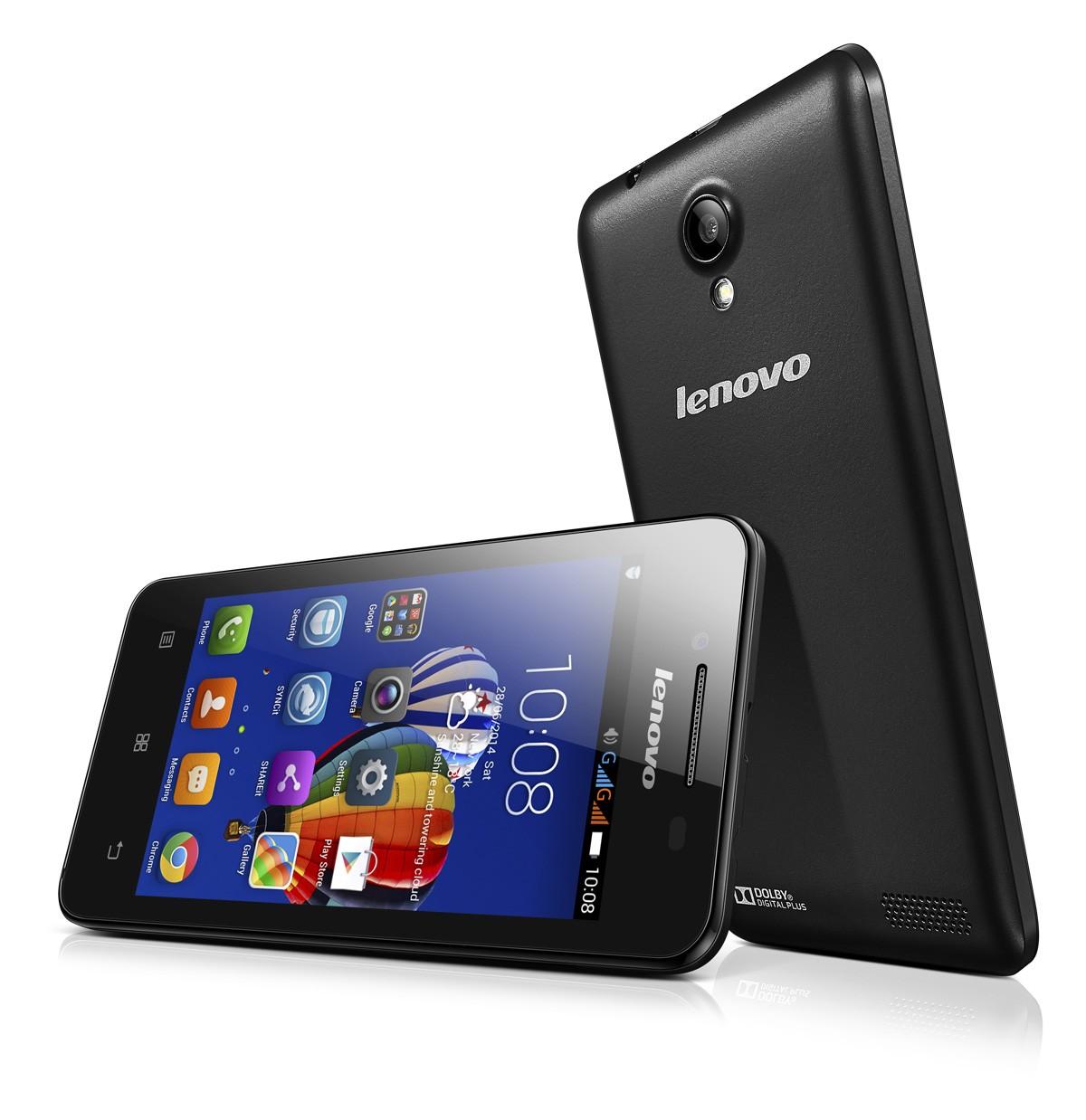 A319 Hero 01 - Lenovo ra mắt smartphone A319 nghe nhạc di động