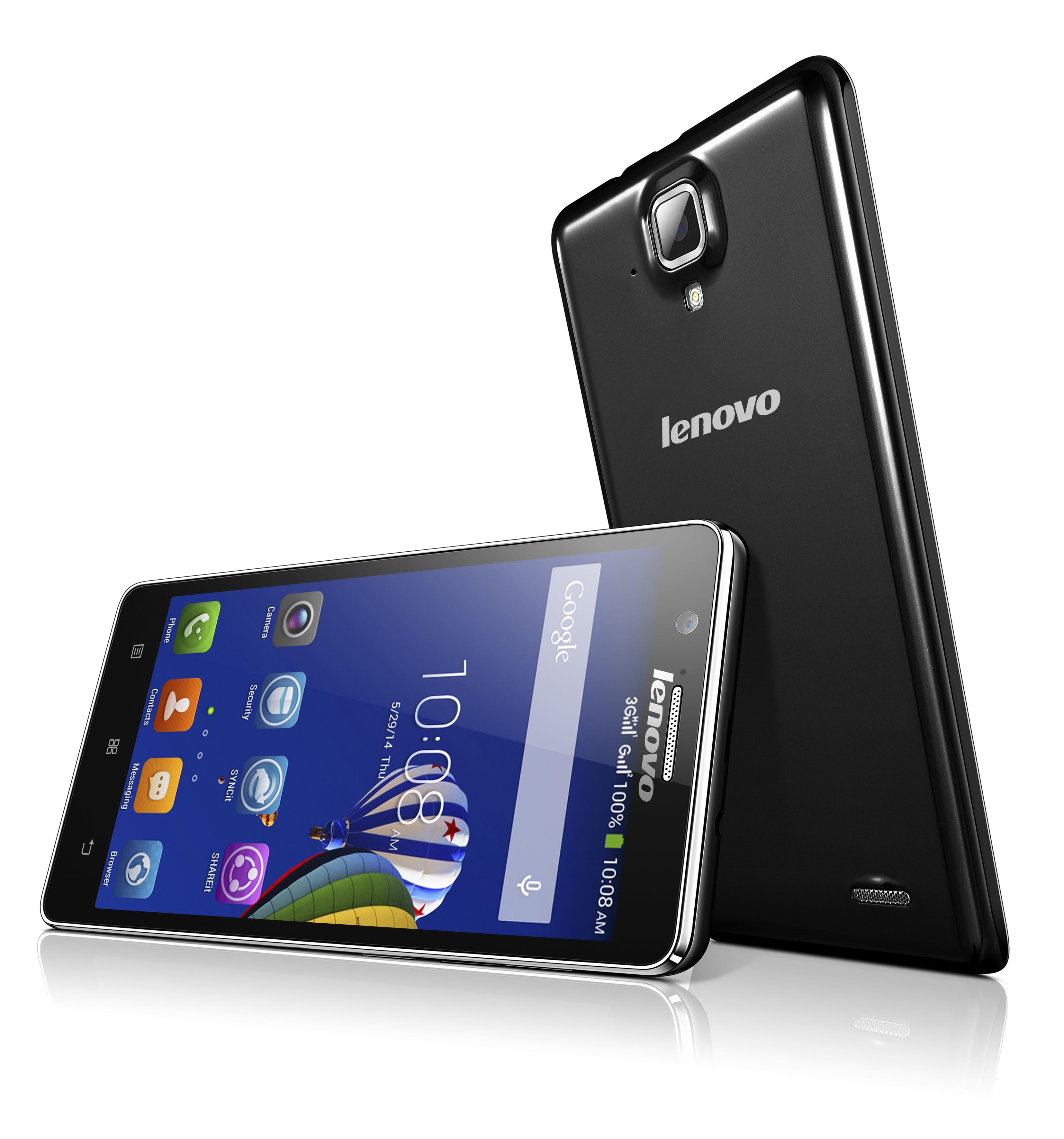 A536 black 01 hires - Lenovo ra mắt điện thoại phổ thông A536
