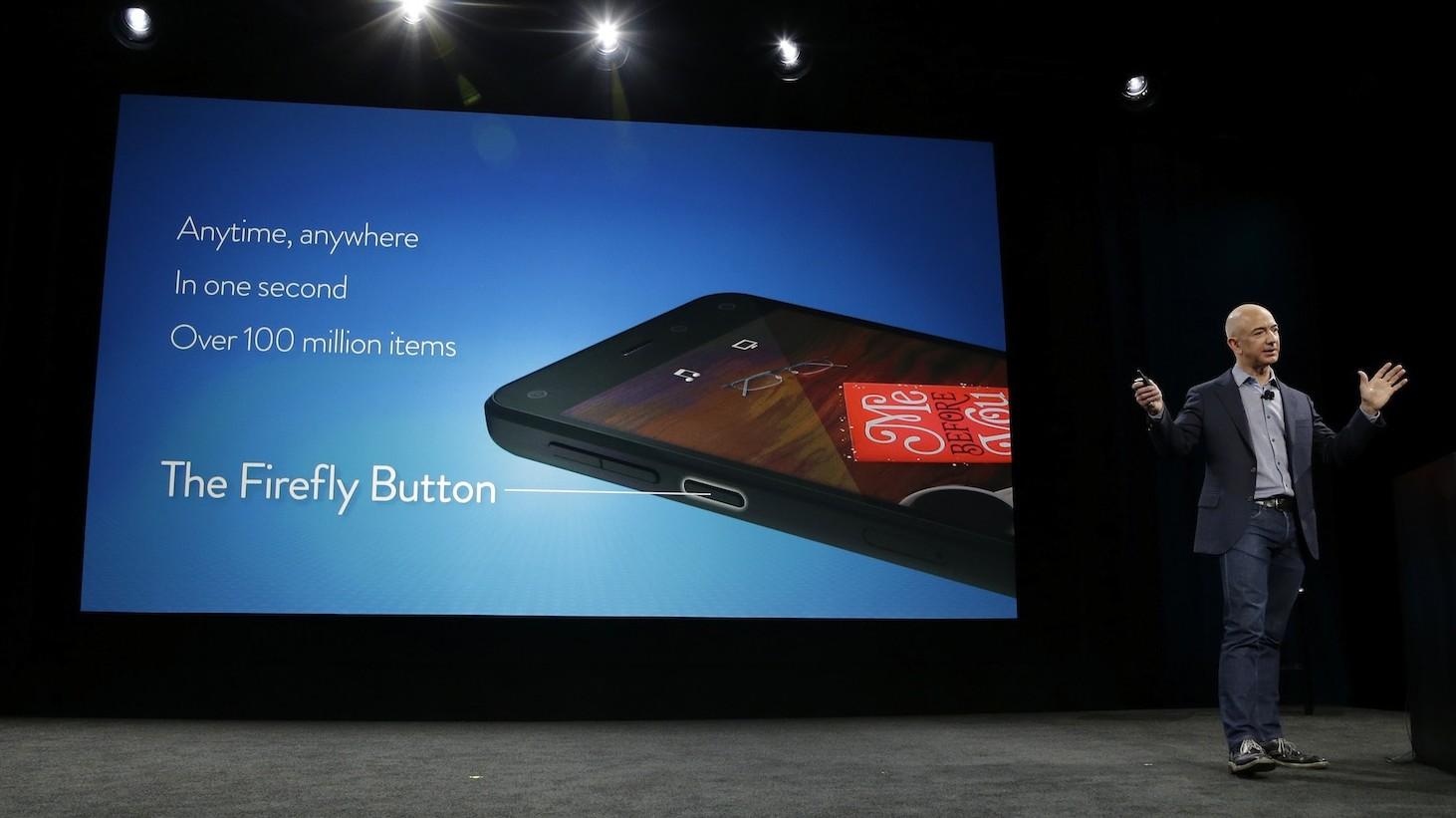 Amazon Firefly - Fire Phone 32GB không khoá có giá 199 USD