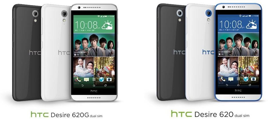HTC Desire 6201 - HTC Desire 620 chính thức có mặt với cấu hình tầm trung