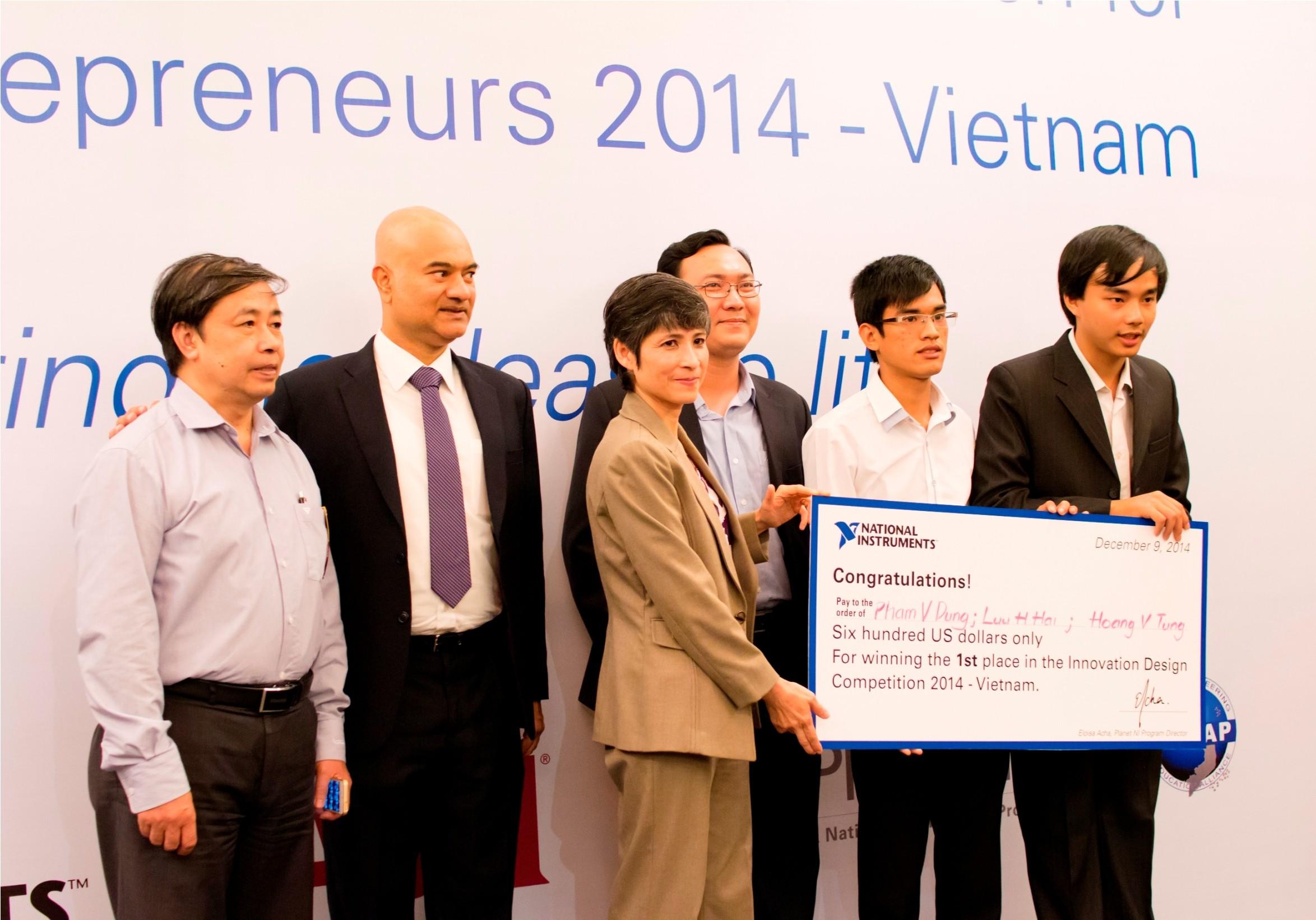 Image 3 - ĐH Bách khoa Hà Nội chiến thắng cuộc thi Thiết kế Sáng tạo dành cho Doanh nhân Trẻ Viêt Nam
