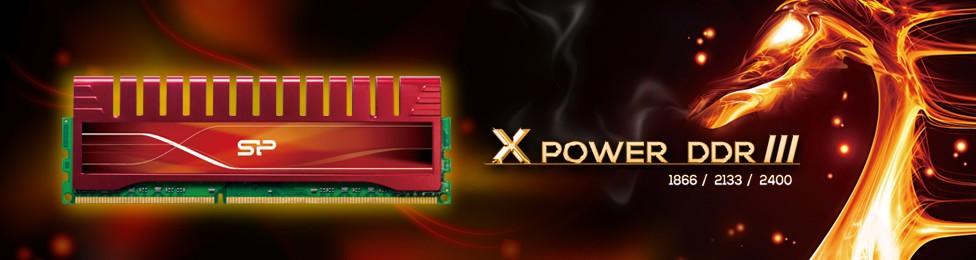 Xpower DDR III - SP/Silicon Power giới thiệu tản nhiệt mới cho RAM DDR3 Xpower