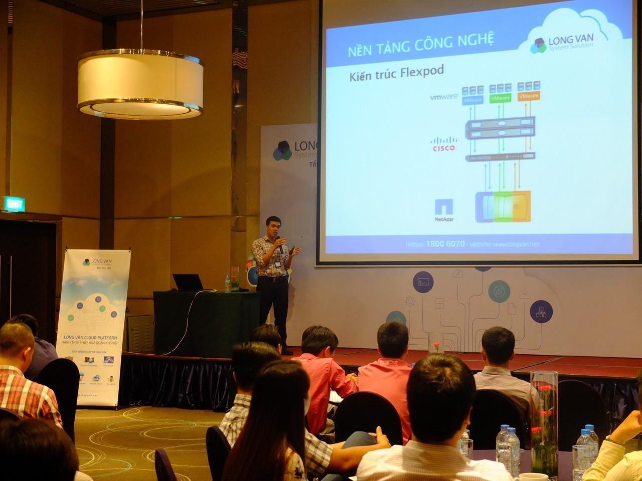 long van cloud platform - Long Vân giới thiệu giải pháp Cloud Platform dành cho doanh nghiệp vừa và nhỏ