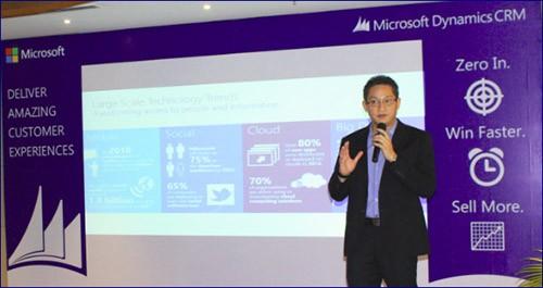 microsoft Dynamics CRM - Ra mắt Microsoft Dynamics CRM 2015