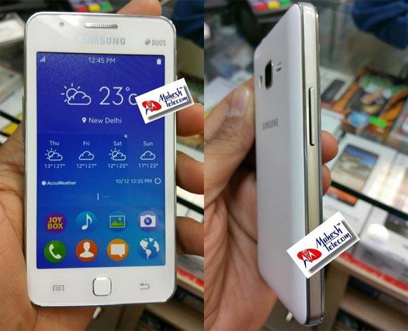 samsung z1 - Samsung Z1 lộ ảnh thật và ngày bán ra thị trường