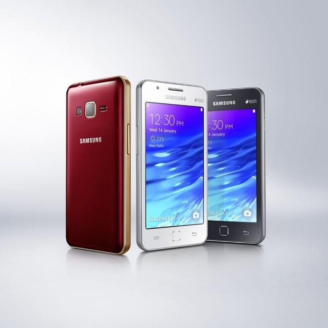 samsung z1 - Samsung chính thức trình làng smartphone đầu tiên chạy Tizen