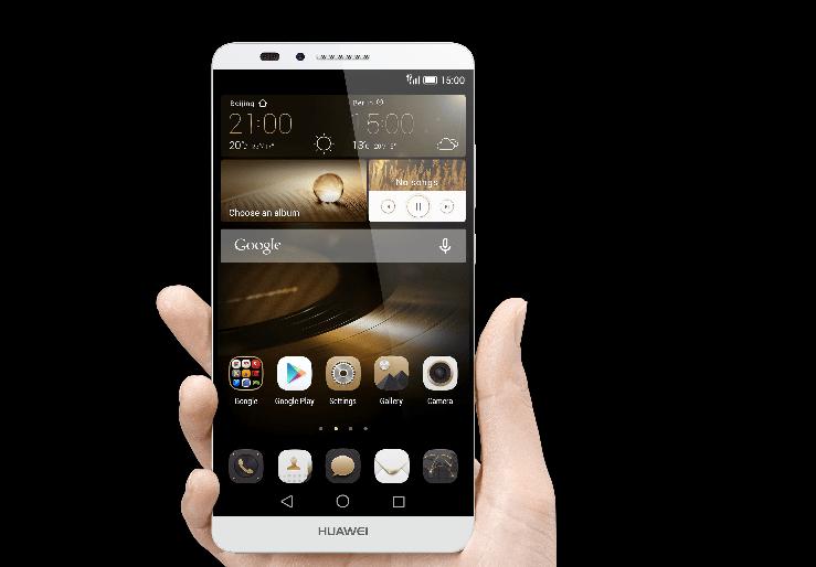 Huawei Mate7 - Huawei công bố kết quả kinh doanh 2014