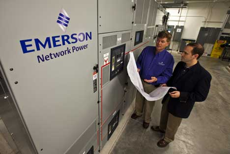 emerson switchgear - Emerson Network Power được ghi nhận là nhà lãnh đạo các Giải pháp DCIM tại Châu Á