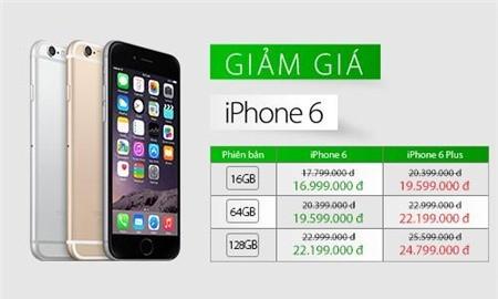 Hinh1giamgia - Từ 10/4, giá iPhone 6 chính hãng giảm gần 1 triệu đồng