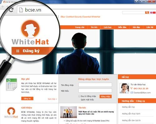 RamatBCSEWhiteHat 2 - Bkav ra mắt chương trình đào tạo An ninh mạng trực tuyến BCSE WhiteHat