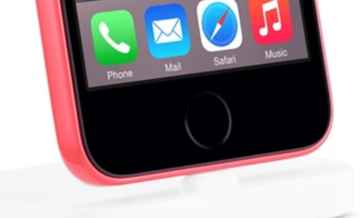 """touch ID - iPhone """"lạ"""" với cảm biến Touch ID xuất hiện trên trang chủ Apple"""