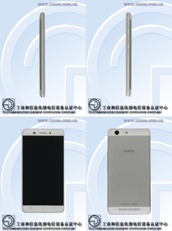 Gionee M5 - Gionee M5 với pin kép lộ diện trong danh mục của TENAA