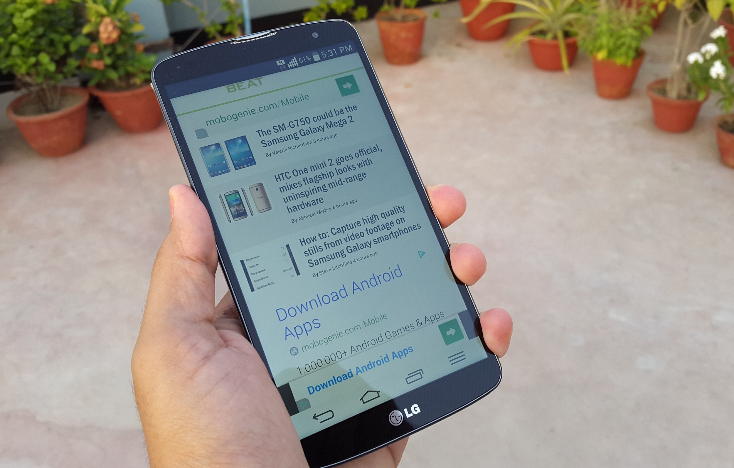 LG G4 Pro - LG cân nhắc sử dụng vỏ kim loại trên LG G4 Pro