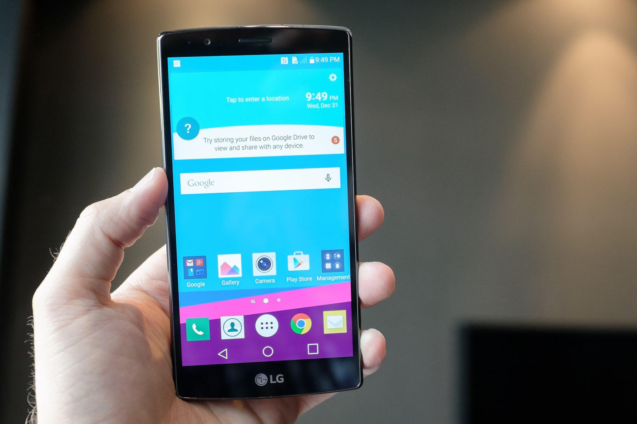 LG G4 - LG G4 gặp rắc rối với màn hình cảm ứng