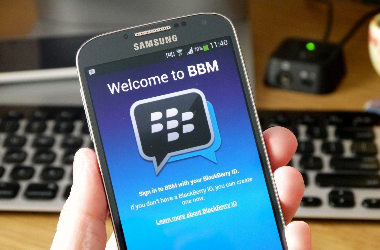 blackberry olso - BlackBerry và Samsung có thể phát triển chung điện thoại Android