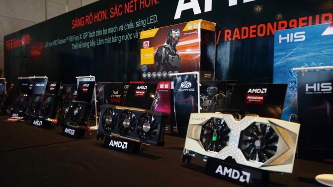 AMD 1 - AMD ra mắt Radeon R9 và R7 300 Series tại Việt Nam